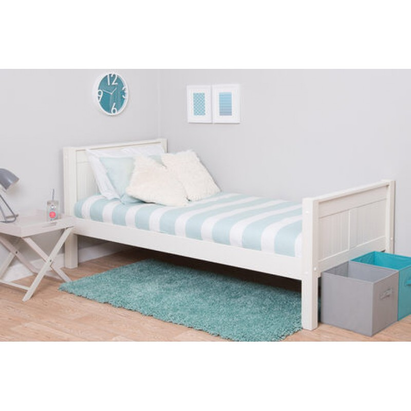 Classic Single Bed With Trundle Bed By Stompa: Stompa Classic Kids Single Bed