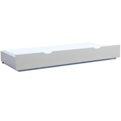 Stompa Classic Kids Trundle Bed White