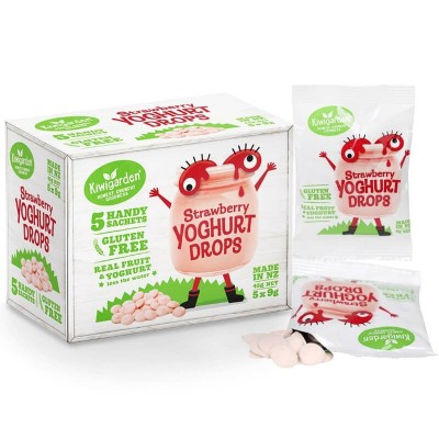 Kiwigarden Strawberry Yoghurt Drops 5 x 9g (12mos+)