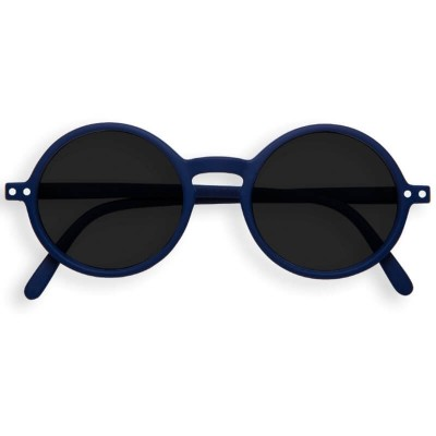 IZIPIZI SUN Junior #G Navy Blue, Soft Grey Lenses (3-10years)