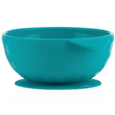 Nuby Sure Grip Suction Bowl - Aqua
