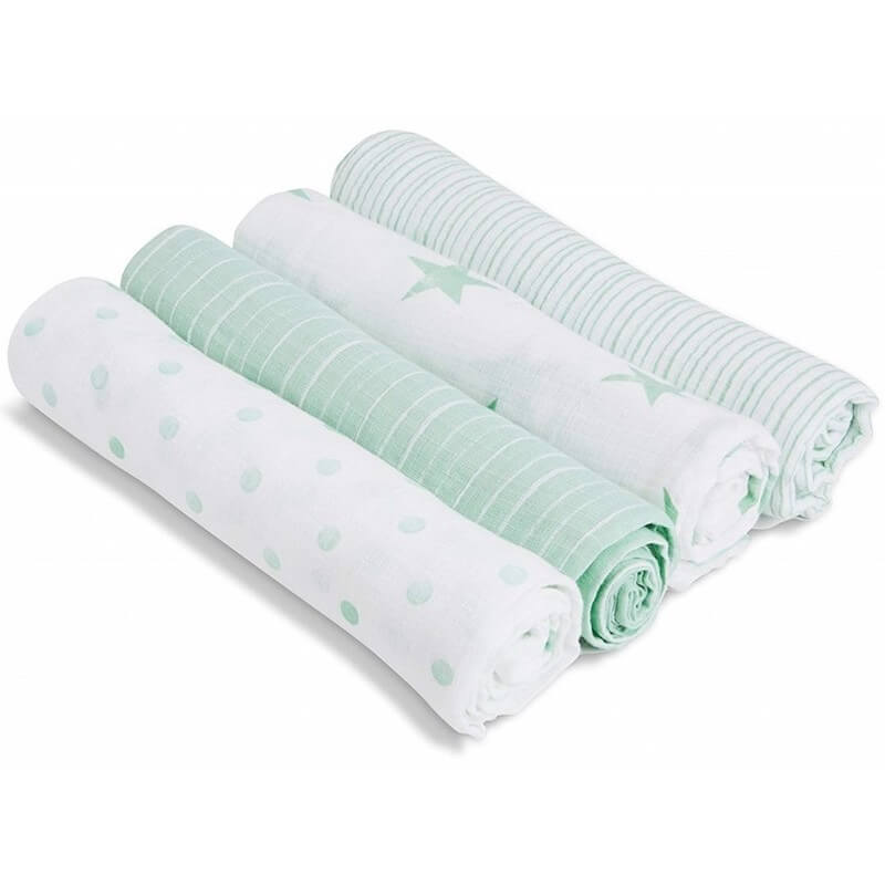 aden + anais Swaddle Plus 4-Pack - Dream   Baby Central HK