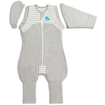 Love to Dream Swaddle UP 50/50 Transition Suit ORIGINAL Grey 1.0 Tog