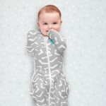 Love to Dream Swaddle UP BAMBOO LITE Grey 0.2 Tog