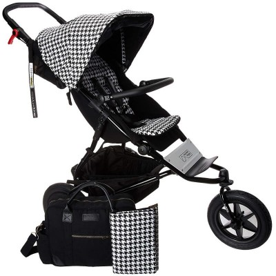 Mountain Buggy Swift Stroller Luxury Collection - Pepita (with bag & changing mat)