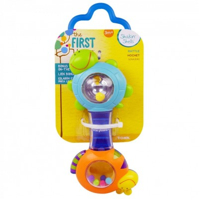 The First Years Shakin Shell Rattle (Color May Vary)