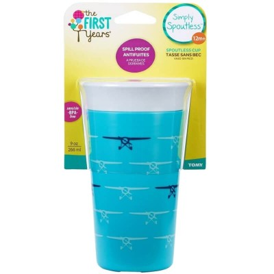 The First Years Spoutless No Spill 9oz Cup