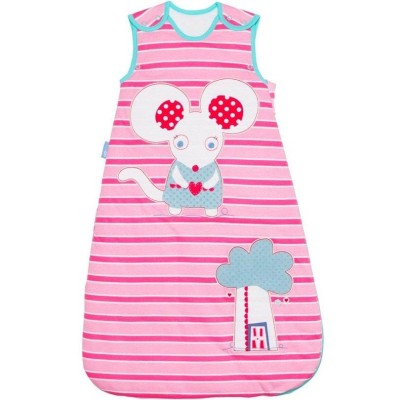The Gro Company - Grobag Little Mo Mouse - 1.0 Tog - 6-18m