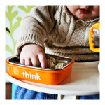 Think Thinkbaby The Complete BPA Free Feeding Set - Orange
