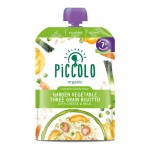 Piccolo Three Grain Vegetable Risotto with a Hint of Basil 130g (7mos+)