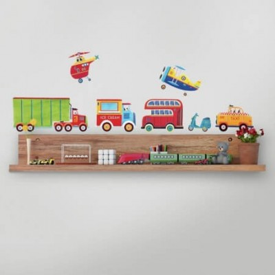 RoomMates Transportation Wall Decals