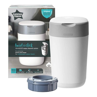 Tommee Tippee Twist & Click Advanced Nappy Disposal System