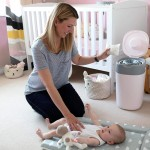 Tommee Tippee Twist & Click Advanced Nappy Disposal System - Pink
