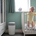 Tommee Tippee Twist & Click Advanced Nappy Disposal System - White
