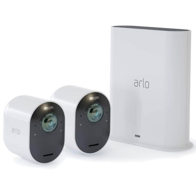 Arlo Ultra 4K UHD Wire-Free Security System - 2 Camera Kit (VMS5240-100NAS)
