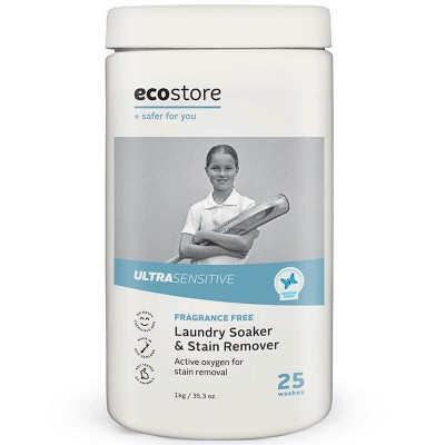 Ecostore Ultra Sensitive Fragrance Free Laundry Soaker & Stain Remover 1kg