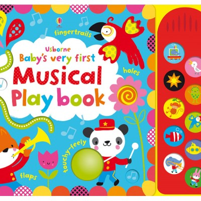 Usborne Usborne Babys Very First Touchy-Feely Musical Play Book