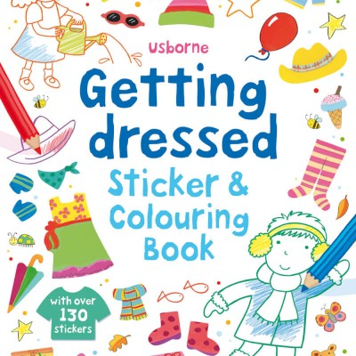 Usborne Getting Dressed Sticker Book: Going On Holiday