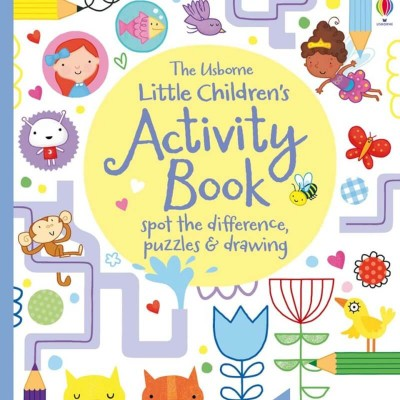 Usborne Little Childrens Activity Book: Spot the Difference, Puzzles & Drawing