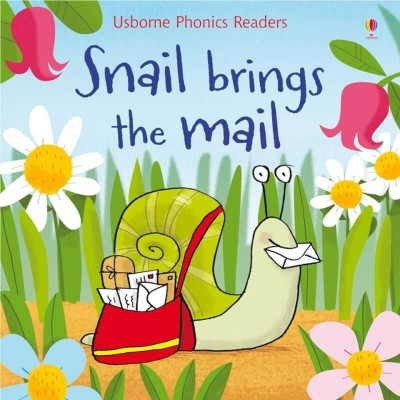 Usborne Usborne Phonics Readers Snail Brings the Mail