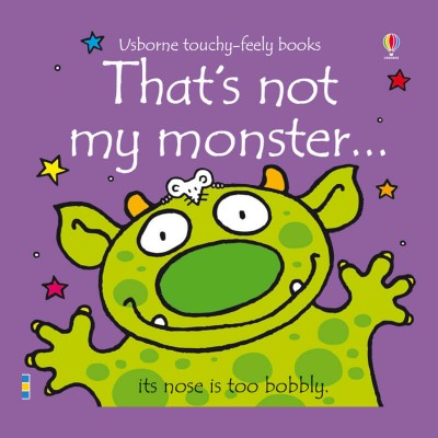 Usborne Usborne Touchy Feely Books - Thats Not My Monster
