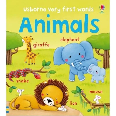 Usborne Very First Words Animals