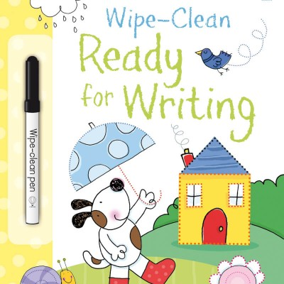Usborne Wipe-Clean Ready for Writing