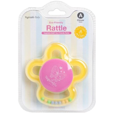 Vegetable Baby Rattle - Clover