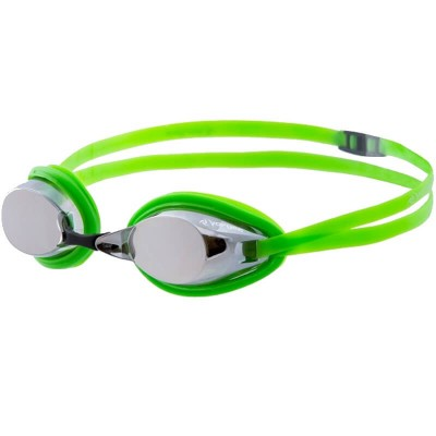 Vorgee Competition - Destroyer Silver Mirrored Lens - Fluoro Green (Adult)