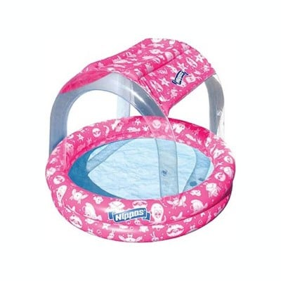 Wahu Nippas Pool with Canopy - Pink