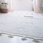 Lorena Canals Washable Rug Hippy Stars Natural 120x175cm