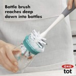 OXO Tot Water Bottle & Straw Cup Cleaning Set - Grey