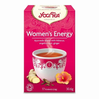 Yogi Tea Women's Energy, 17 Tea Bags (30.6grams)