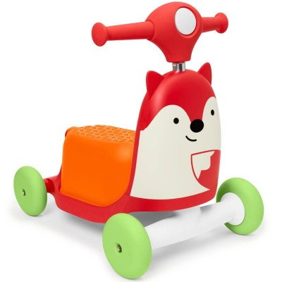Skip Hop Zoo 3-in-1 Ride On Toy - Fox
