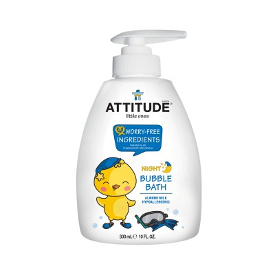 ATTITUDE Little Ones Night Bubble Bath - Almond Milk 300ml