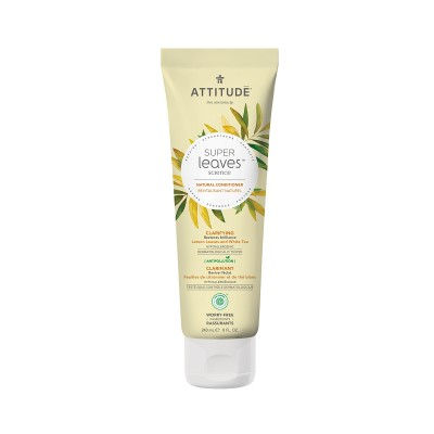 ATTITUDE Super Leaves Science Natural Conditioner - Lemon Leaves & White Tea 240ml