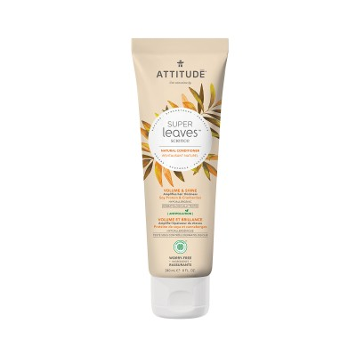 ATTITUDE Super Leaves Science Natural Conditioner - Soy Protein & Cranberries 240ml
