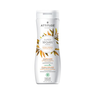 ATTITUDE Super Leaves Science Natural Shampoo - Soy Protein & Cranberries 473ml