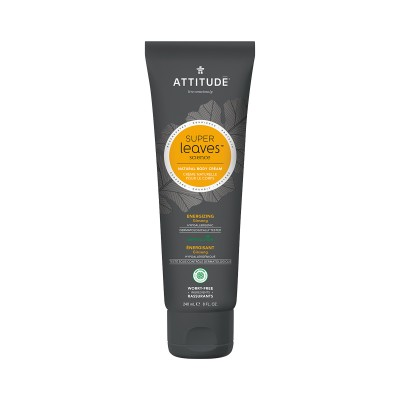 ATTITUDE Super Leaves Science Natural Body Cream - Ginseng 240ml