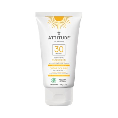 ATTITUDE Natural Care SPF30 Mineral Sunscreen - Tropical 150g