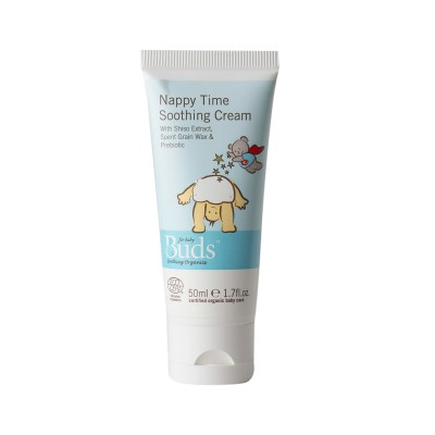 Buds Soothing Organics Nappy Time Soothing Cream 50ml