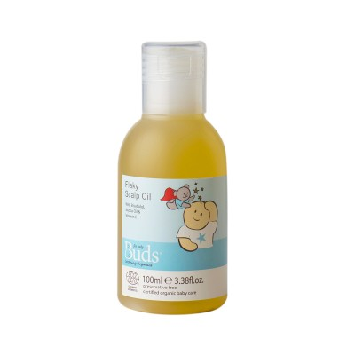 Buds Soothing Organics Flaky Scalp Oil 100ml