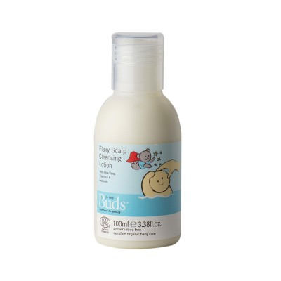 Buds Soothing Organics Flaky Scalp Cleansing Lotion 100ml