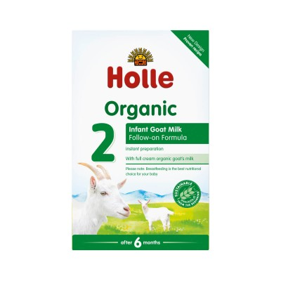Holle Organic Infant Goat Milk Follow-On Formula 2 - 400g (6 mos+)