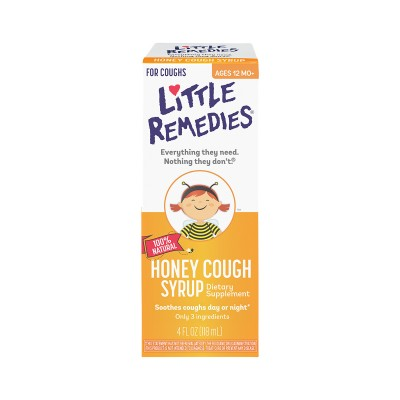 Little Remedies 100% Natural Honey Cough Syrup 118ml