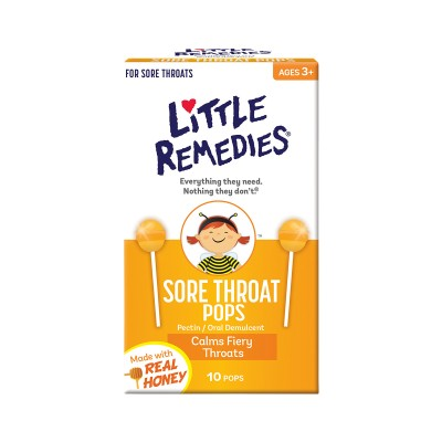 Little Remedies Sore Throat Pops (10 pops)