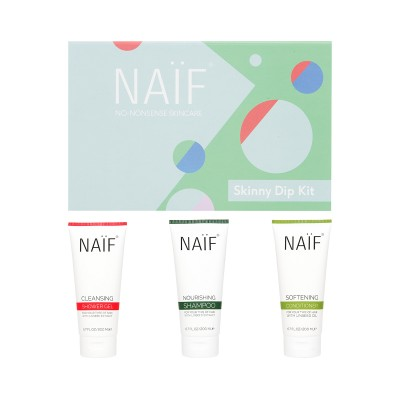 Naif Skinny Dip Shower Kit 3-Pack
