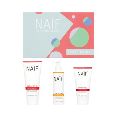 Naif Top To Toe Kit 3-Pack
