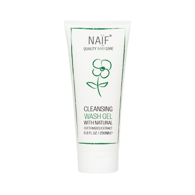 Naif Cleansing Wash Gel with Natural Cottonseed Extract 200ml