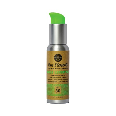 Raw Elements Daily Lifestyle Sunscreen SPF30 Pump 80ml